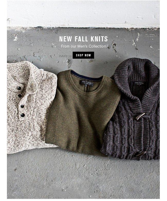 New Fall Knits