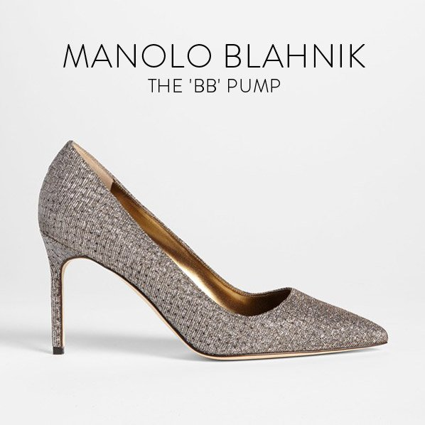 MANOLO BLAHNIK - THE 'BB' PUMP