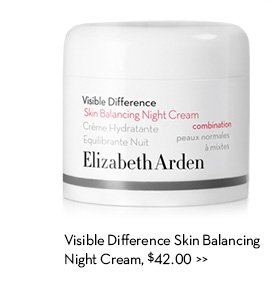 Visible Difference Skin Balancing Night Cream, $42.00.