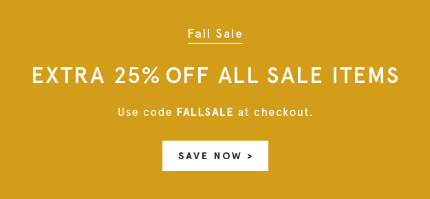 Use Code FALLSALE
