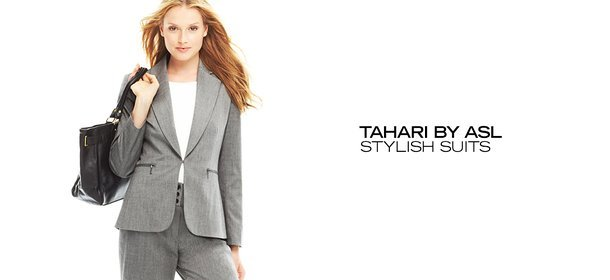 TAHARI BY ASL: STYLISH SUITS, Event Ends September 27, 9:00 AM PT >