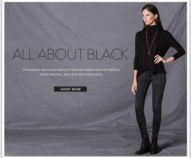 Womens All About Black