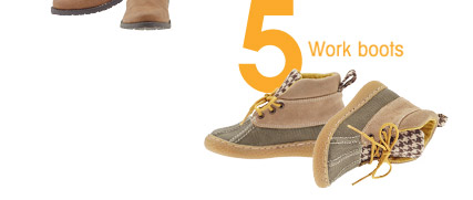 5 Work boots