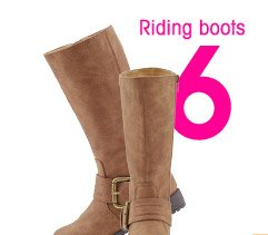 6 Riding boots