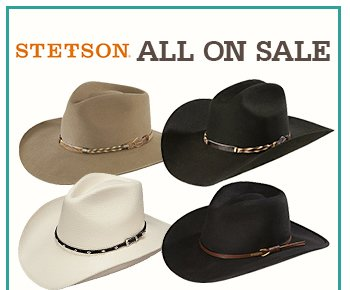 All Stestson Hats on Sale