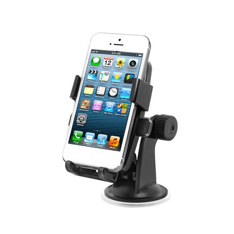 Easy One Touch Car Mount // iPhone 4/4S/5/5S + Smartphones