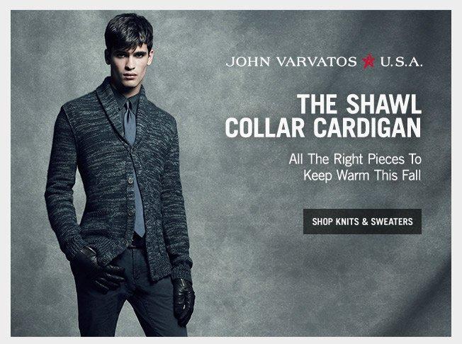 Fall Knits, Sweaters & Denim - Shop John Varvatos * U.S.A.