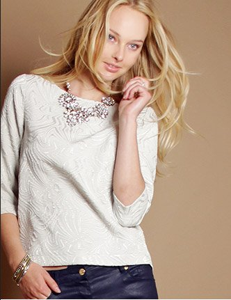 Embroidered Blouse $35