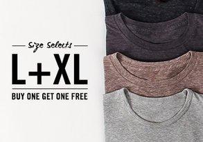 Shop Size Selects: L& XL Tees