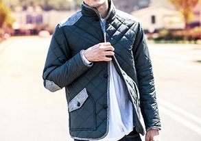 Shop Fall Trends: Diamond Quilted Jackets