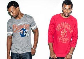 Shop Team Spirit: NFL Tees & Crewnecks