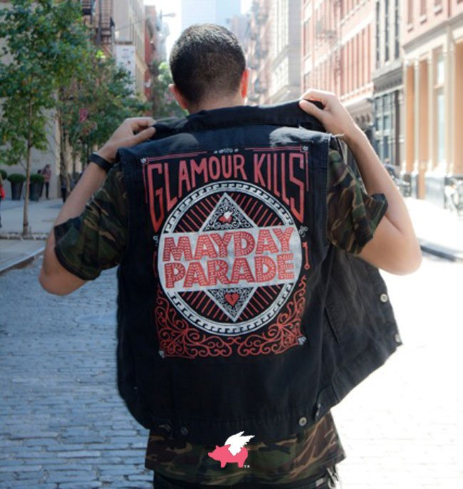 GK/Mayday Parade LIMITED EDITION Vest Collab