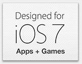 Designed for iOS 7