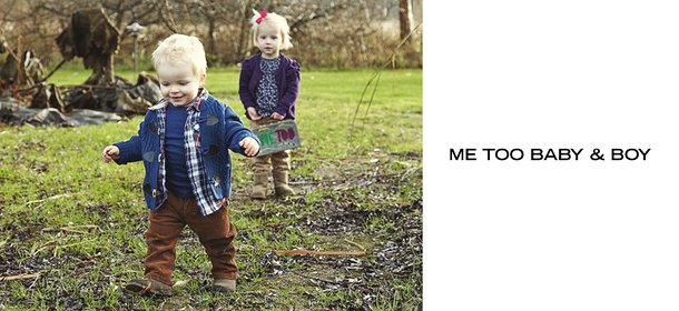 ME TOO BABY & BOY, Event Ends October 2, 9:00 AM PT >