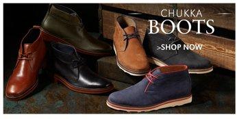 CHUKKA BOOTS | SHOP NOW