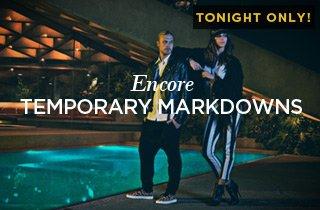 Encore: Temporary Markdowns