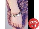 Crystal Stone Elasticize Band Bracelet