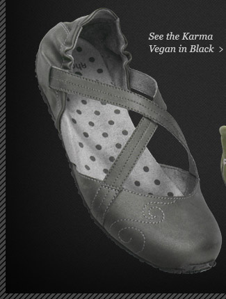 See the Karma Vegan in Black