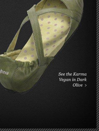 See the Karma Vegan in Dark Olive