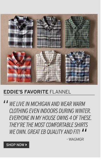 Shop Now Men's Flannel