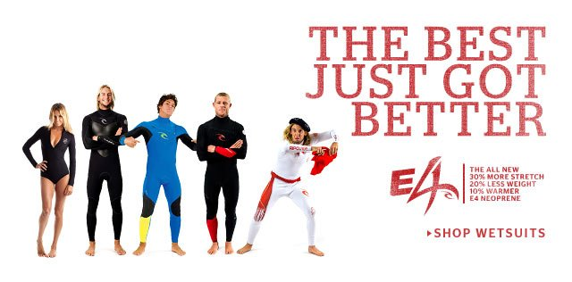 The Best Just Got Better - Shop Rip Curl Wetsuits
