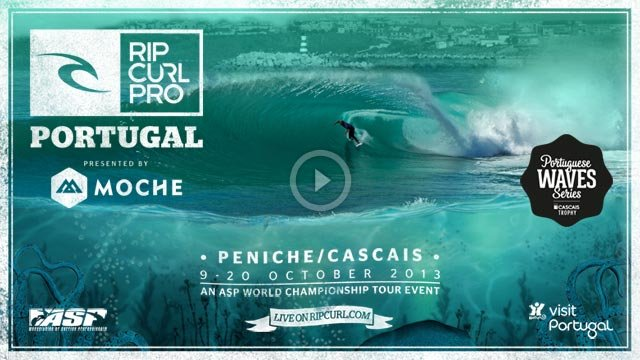 2013 Rip Curl Pro Portugal - Watch The Video