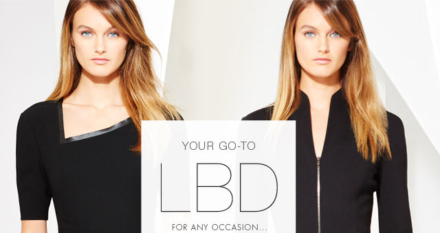 Your go-to LBD for any occasion...