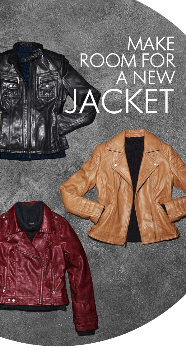 MAKE ROOM FOR A NEW JACKET