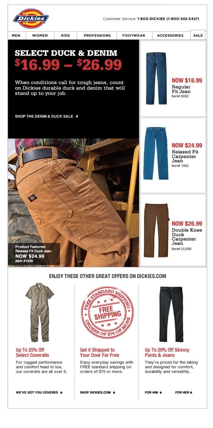 SELECT DUCK & DENIM NOW $16.99 - $26.99