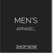 Men's Apparel. Shop Now