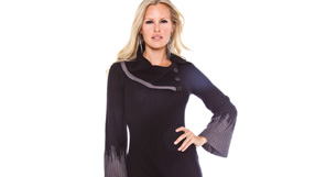 Sweater Dress by Sandra Darren and more