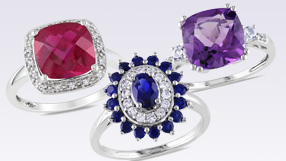 Gemstones -  The Royal Colors of fall