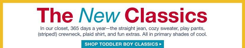 The New Classics | SHOP TODDLER BOY CLASSICS
