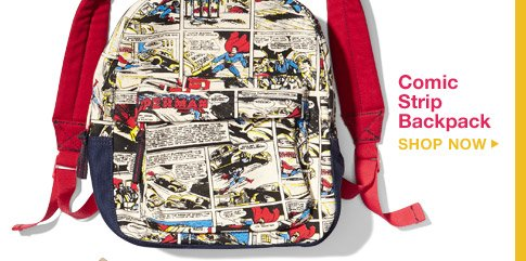 Comic Strip Backpack | SHOP NOW