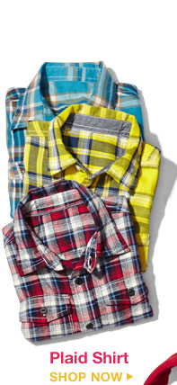Plaid Shirt | SHOP NOW