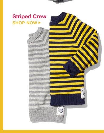 Striped Crew | SHOP NOW