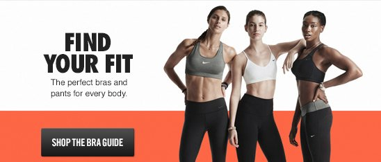 FIND YOUR FIT | SHOP THE BRA GUIDE