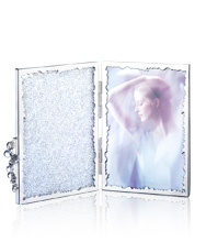Crystalline Picture Frame