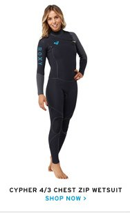 Cypher wetsuits