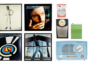 Rock & Roll: Vintage Radios & Albums