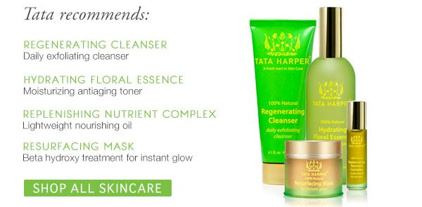 Tata's Recommendations. Shop All Skincare