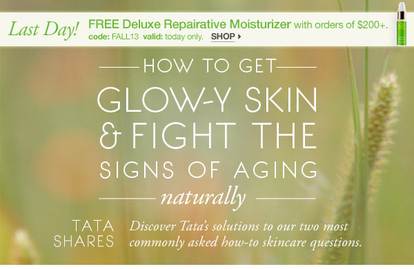 How to Get Glowy Skin & Fight Signs of Aging