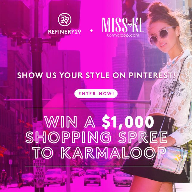 Win a $1,000 Shopping Spree from Karmaloop!