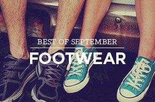 Best Of September: Footwear