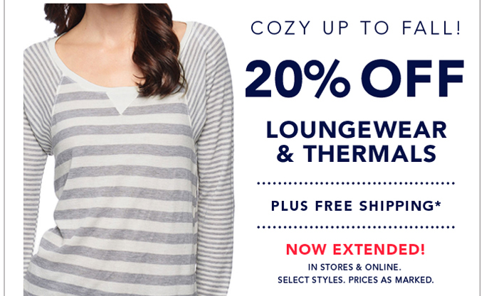 Sale extended! Cozy up to Fall
