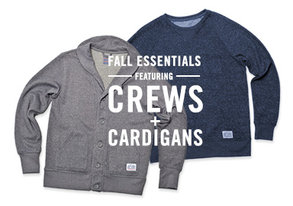 Shop Fall Essentials: Crews & Cardigans