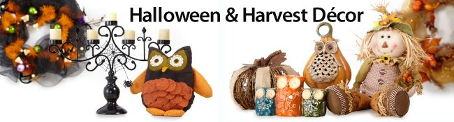 Halloween and Harvest Decor