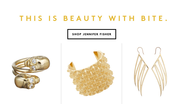 A little gold makes a big impact. Shop now.