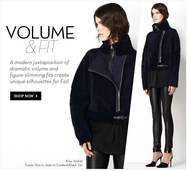 Volume & Fit | Shop Now