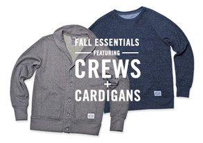 Shop Fall Essentials: Crews & Cardigans